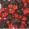 Assortie Acrylkralen 1 rood/donkerrood