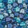 Assortie Acrylkralen 1 blauw