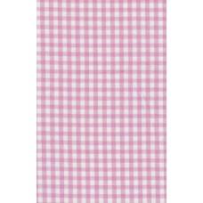 Lap stof roze ruit