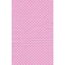 Lap stof roze stip