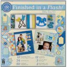 Finished in a Flash Baby Boy Kit