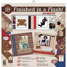 Finished in a Flash My Dog Kit