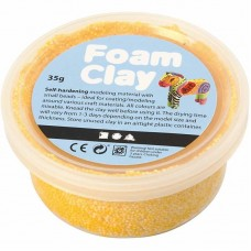 Foam Clay geel