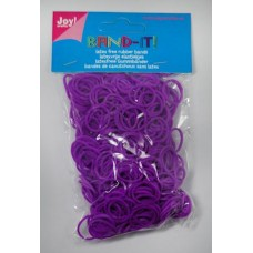 BAND-IT loom  elastieken purple (600)