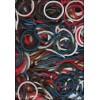 BAND-IT Mix Kerst loom elastieken (600)
