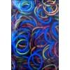 BAND-IT Mix Zwart-Kleuren loom elastieken (600)