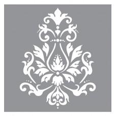 Stencil Brocade Motif