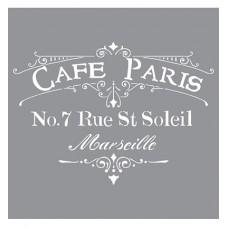 Stencil Cafe Paris