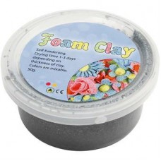 Foam Clay zilver